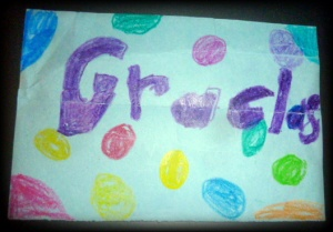 On our last day in Costa Rica, one of the children slipped this note into my purse.