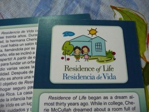 residence of life brochure