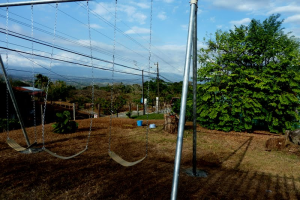 Swing-set with a view