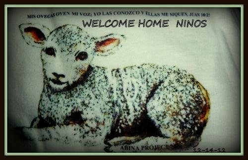 WELCOME HOME NINOS